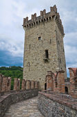 Castle of Vigoleno. Emilia-Romagna. Italy. — Stock Photo