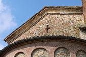 St.giovanni kyrka. vigolo marchese. emilia-romagna. italien. — Stockfoto