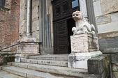 Cathedral. Piacenza. Emilia-Romagna. Italy. — Stock Photo