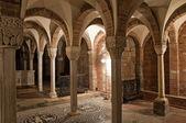 Crypt of St. Savino Basilica. Piacenza. Emilia-Romagna. Italy. — Stock Photo