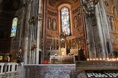Catedral interior. piacenza. emília-romanha. itália. — Foto Stock
