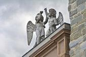 Bishop's palace. Piacenza. Emilia-Romagna. Italy. — Stock Photo