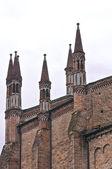 St. Antonino Basilica. Piacenza. Emilia-Romagna. Italy. — Stock Photo