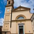 St. Agata Church. Rivergaro. Emilia-Romagna. Italy. - Stock Photo