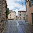 Alleyway. Rivergaro. Emilia-Romagna. Italy. - Stock Photo