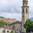 Stock Photo: St. Giovanni BattistChurch. Bardi. Emilia-Romagna. Italy.