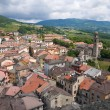 Panoramic view of Bardi. Emilia-Romagna. Italy. — Foto de Stock