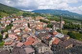 Panoramische ansicht der bardi. emilia-romagna. italien. — Stockfoto