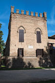 Росси крепость Сан Секондо Парменза. Эмилия-Романья. Италия. — Стоковое фото