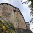 Stock Photo: Castle of Compiano. Emilia-Romagna. Italy.