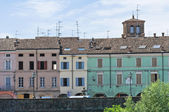 Pohled colorno. emilia-romagna. itálie. — Stock fotografie