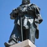 Постер, плакат: Giuseppe Garibaldi bronze statue