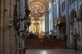 Interior Cathedral. Parma. Emilia-Romagna. Italy. — Stock Photo