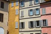 Alleyway. Parma. Emilia-Romagna. Italy. — Stockfoto