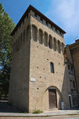 Rocchetta tower. Parma. Emilia-Romagna. Italy. — Stock Photo