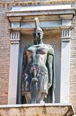 Pomnik. parma. emilia-romania. włochy. — Zdjęcie stockowe