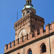 Accursio Tower. Bologna. Emilia-Romagna. Italy. — Stock Photo
