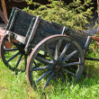 Stock Photo: Wooden handcart.