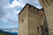 Castle of Varano de' Melegari. Emilia-Romagna. Italy. — Foto Stock
