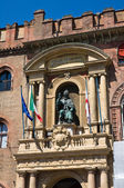 Accursio palace. Bologna. Emilia-Romagna. Italien. — Stockfoto