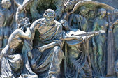 Bronzestatuen. — Stockfoto