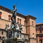 Fountain of Neptune. Bologna. Emilia-Romagna. Italy. — Stock Photo #8715084