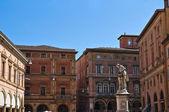Luigi galvani plein. Bologna. Emilia-Romagna. Italië. — Stockfoto