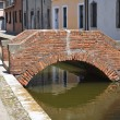 View of Comacchio. Emilia-Romagna. Italy. — Stock Photo
