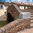Cops bridge. Comacchio. Emilia-Romagna. Italy. - Stock Photo
