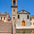 Church of Carmine. Comacchio. Emilia-Romagna. Italy. - Stock Photo