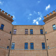 Castle of Mesola. Emilia-Romagna. Italy. — Stock Photo