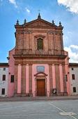 Virgin Mary's Nativity Church. Mesola. Emilia-Romagna. Italy. — Stockfoto
