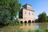 Abate toren. mesola. emilia-romagna. italië. — Stockfoto