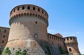 W castello sforzesco. dozza. emilia-romania. włochy. — Zdjęcie stockowe
