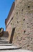 Venetian Fortress. Brisighella. Emilia-Romagna. Italy. — Stock Photo