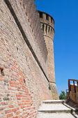 Benátská pevnost. brisighella. emilia-romagna. itálie. — Stock fotografie