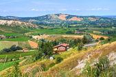 Panoramautsikt över emilia-romagna. italien. — Stockfoto