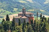 Sanctuary of Monticino. Brisighella. Emilia-Romagna. Italy. — Stock Photo