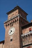 Castillo estense. ferrara. emilia-romaña. italia. — Foto de Stock