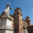 Royalty-Free Stock Photo: Estense Castle. Ferrara. Emilia-Romagna. Italy.