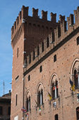Corridoio di città. Ferrara. Emilia-Romagna. Italia. — Foto Stock