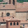 Stock Photo: Panoramic view of Ferrara. Emilia-Romagna. Italy.