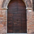 Wooden door. — Stock Photo
