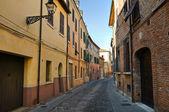 Alleyway. Ferrara. Emilia-Romagna. Italy. — Стоковое фото