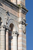 Belltower Cathedral of Ferrara. Emilia-Romagna. Italy.Nota per il team: — Stock Photo