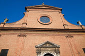 St. Maria in Vado Church. Ferrara. Emilia-Romagna. Italy. — Stock Photo