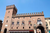 City Hall. Ferrara. Emilia-Romagna. Italy. — Stock Photo