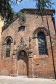 Church of St. Giuliano. Ferrara. Emilia-Romagna. Italy. — Stock Photo