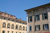 Historical Palaces. Ferrara. Emilia-Romagna. Italy. — Stock Photo