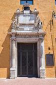 Estense Hall Entrance. Ferrara. Emilia-Romagna. Italy. — Stock Photo
